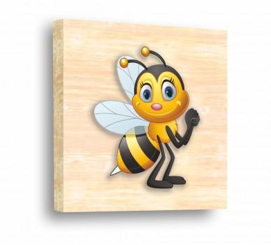 Стикер за стена Сладка пчеличка 61007