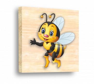 Стикер за стена Сладка пчеличка 61009