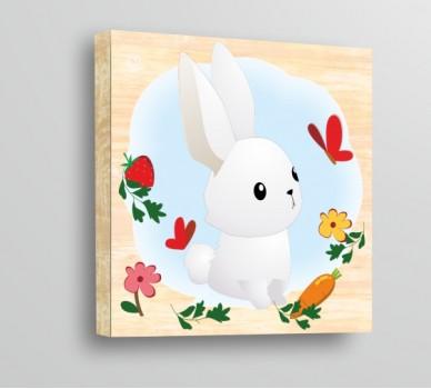 Стикер за стена Зайче WP6102002