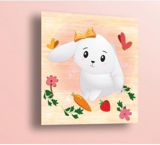 Стикер за стена Зайче WP6102003 Розово