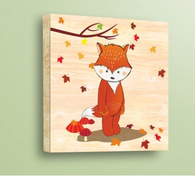 Стикер за стена Лиско и есента