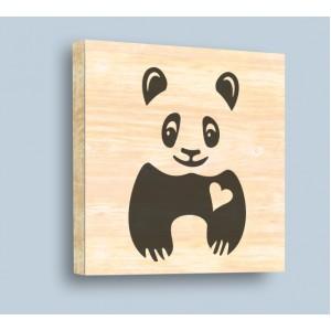 Обичлива панда, Дърво
