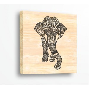 Слон, Плетеница 91920